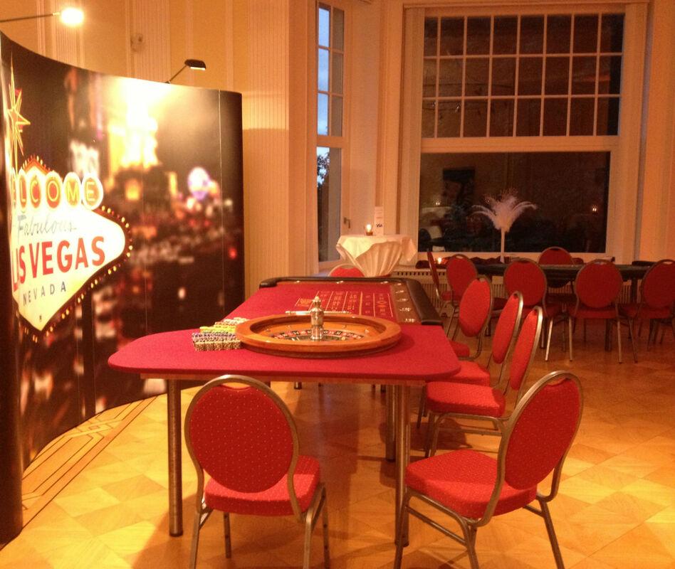 Beispiel: Veranstaltung - Casino Abend, Foto: Bayer Villa.