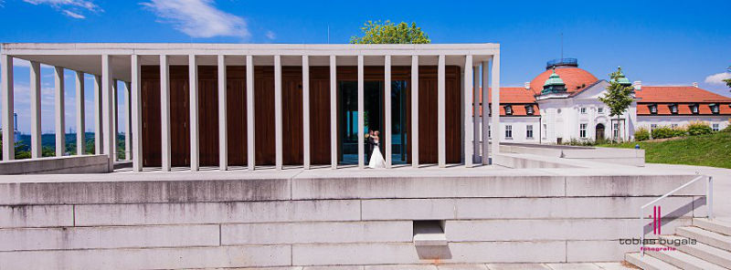 Beispiel: Portrait des Brautpaares, Foto: Tobias Bugala Fotografie.