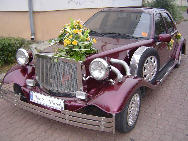 Auto retro do ślubu Eksodus