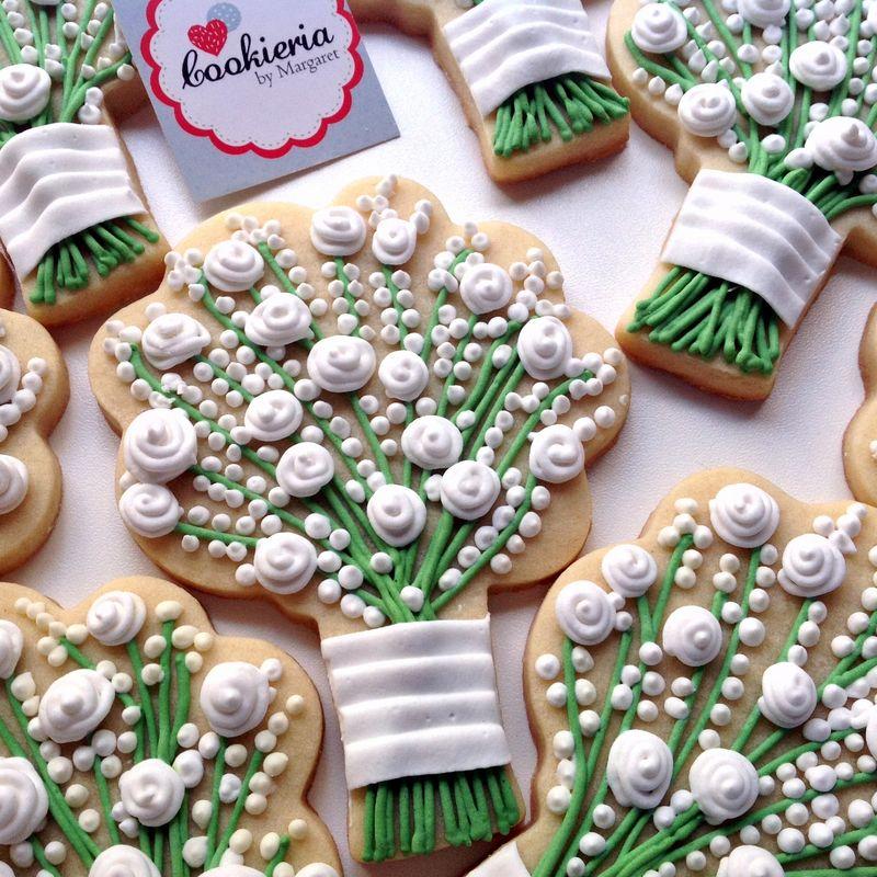 Biscoitos Bouquet Tamanho 13 cm