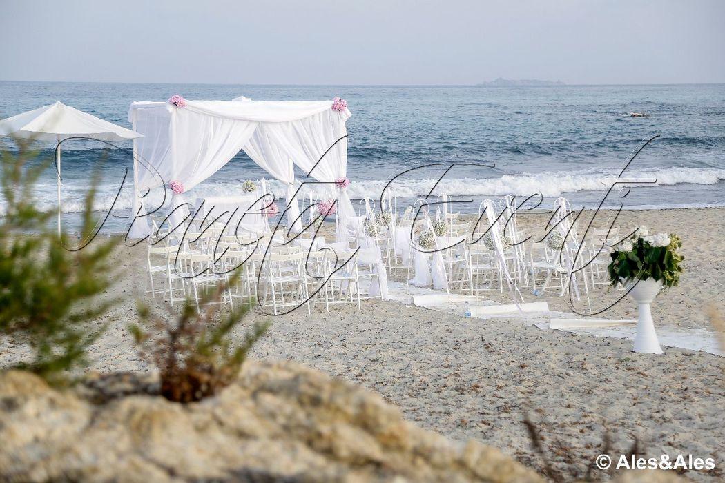 Pianeta Eventi: Matrimonio in riva al mare