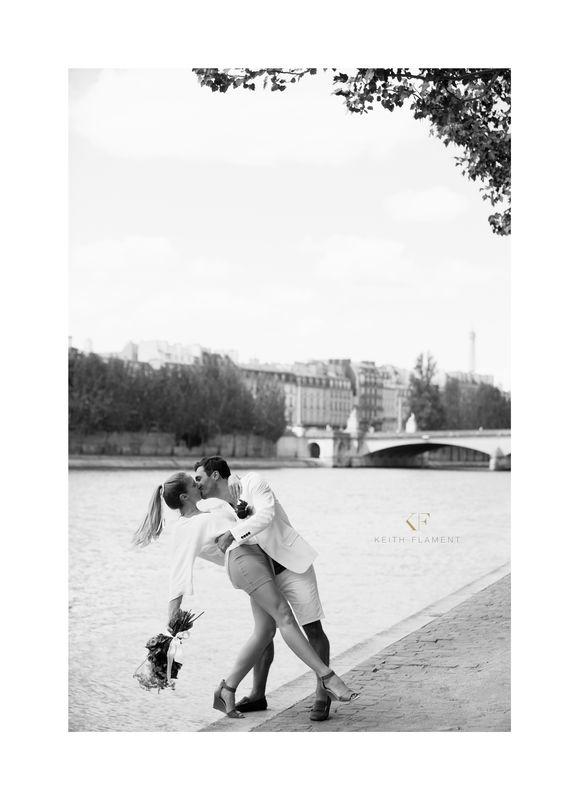 Engagement à Paris