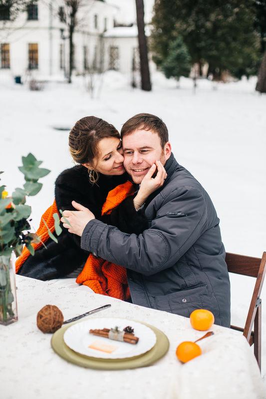 Зимняя свадьба в Середниково
