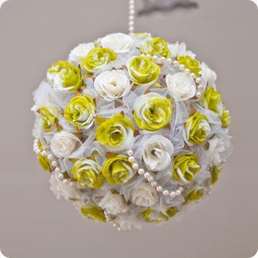 Esfera de flores