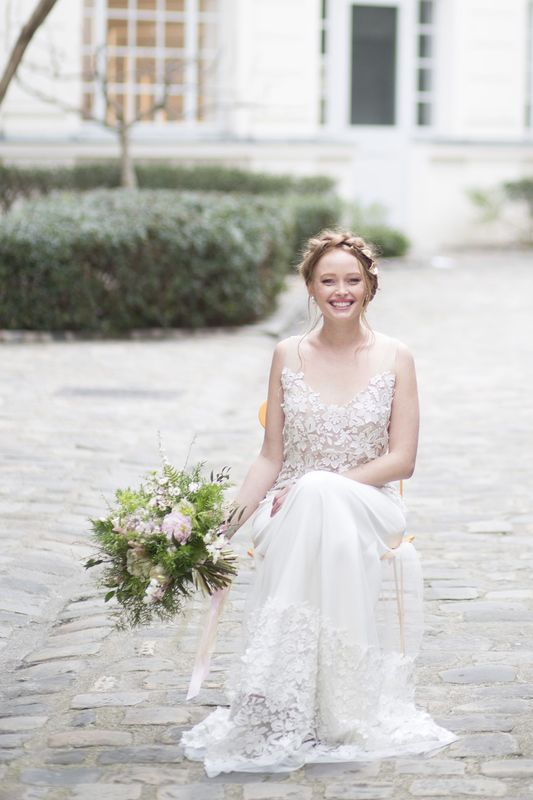 mariage retro, mariage vegetal, mariage boheme, tendance vegetale