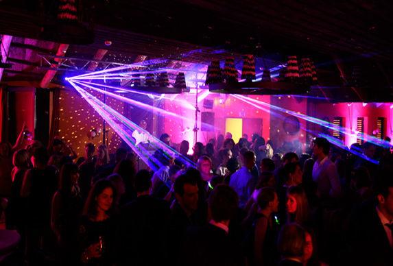Beispiel: Lasershow, Foto: DJ IVO.