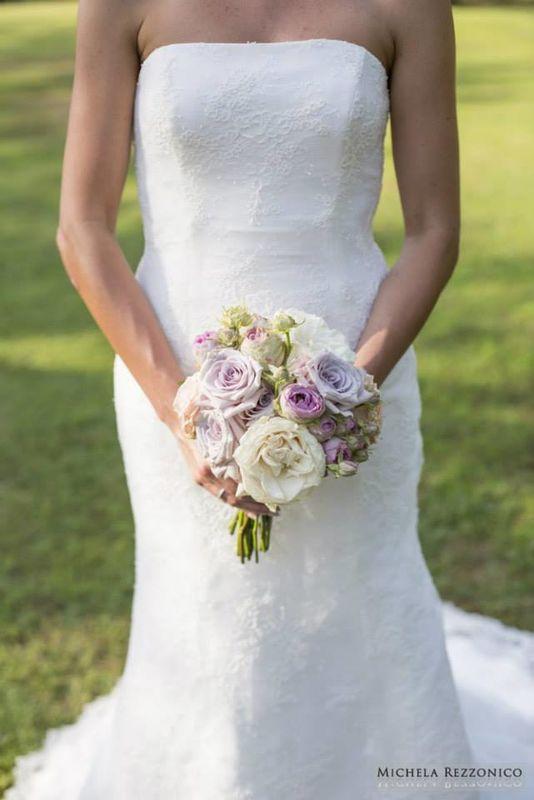 Fiordifragola - bouquet sposa rose - Villa Repui - Lago Maggiore  photo By Michela Rezzonico