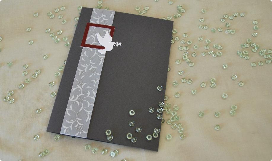 Beispiel: Hochzeitseinladung, Foto: Cardlove.de.