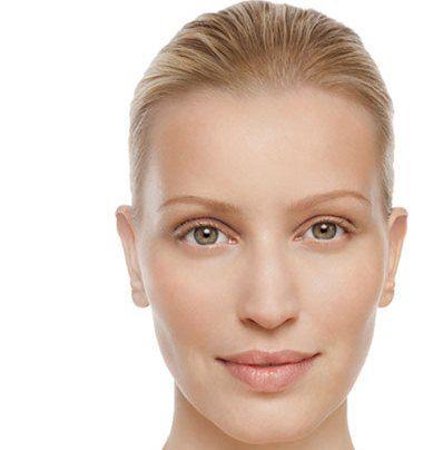 Beispiel: Nordeuropäischer Hauttyp, Foto: skin biology center.