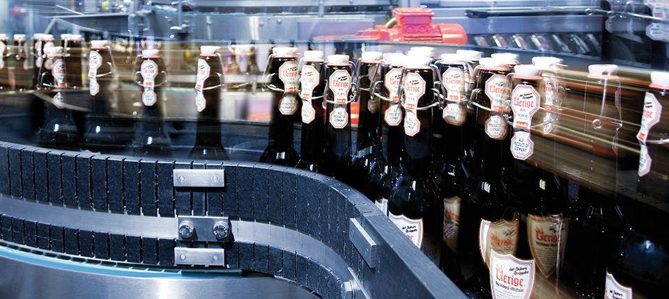 Beispiel: Hauseigenes Bier, Foto: Uerige Obergarige Hausbrauerei.