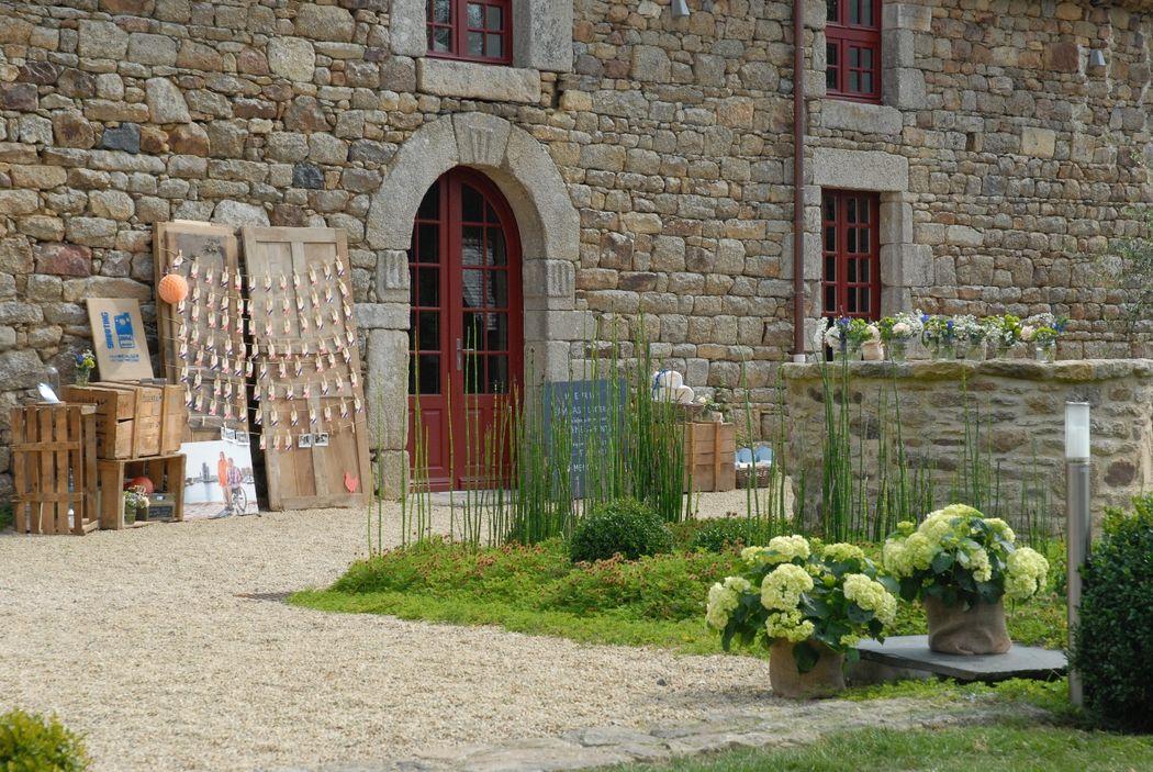 Décoration champêtre - Manoir de La Mare Côtes d'Armor