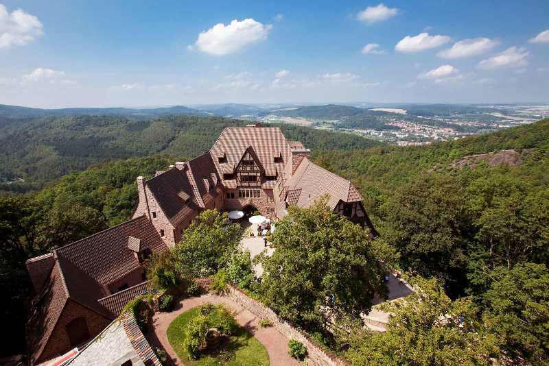 Wunderschöne Umgebung, Foto: Hotel auf der Wartburg