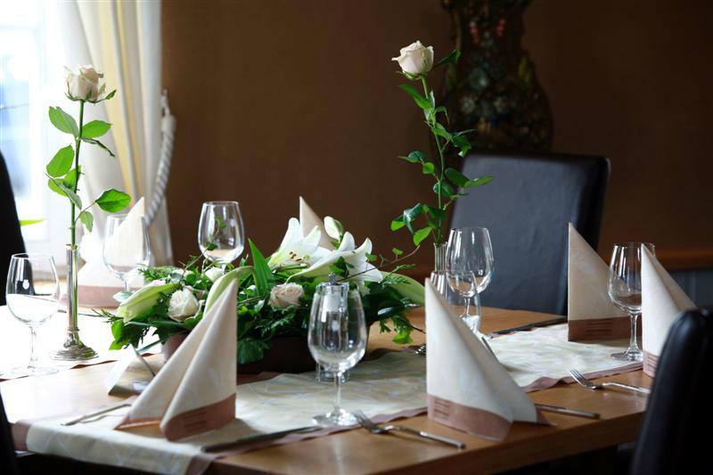 Beispiel: Tischdekoration, Foto: EdVino.