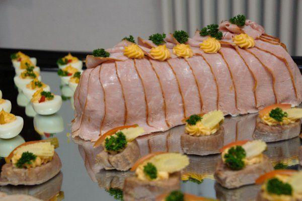 Beispiel: Fleisch, Foto: Catering Hotel Ambassador.