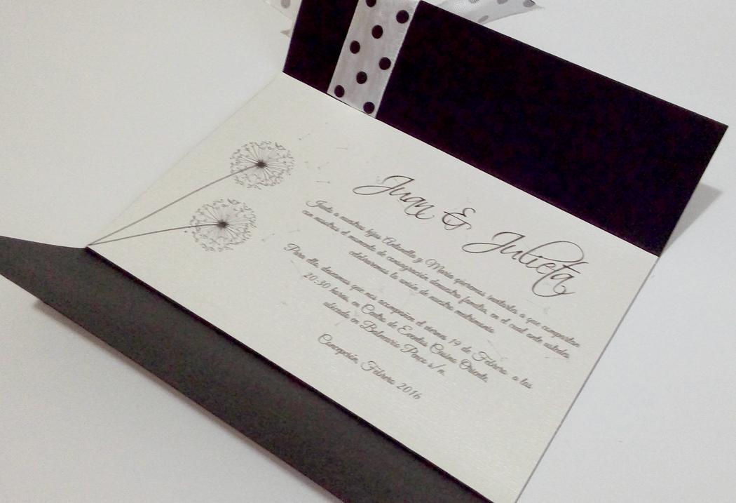 Invitación cod. 009