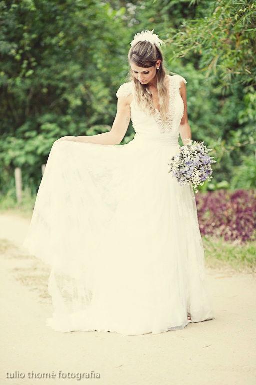 Magali Vieira Alta Costura. Noiva: Camilla Alves. Foto: Túlio Thomé