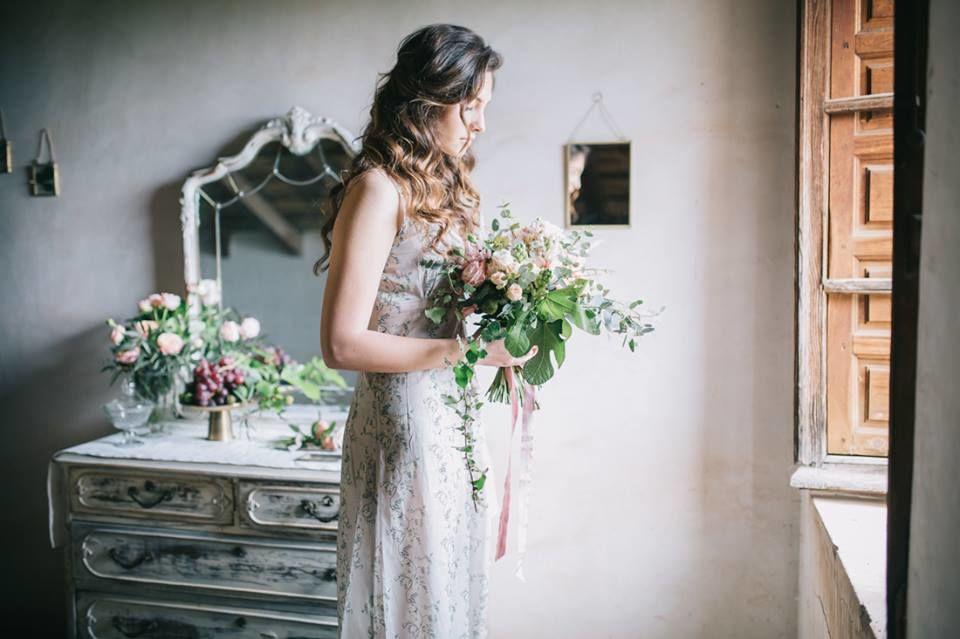 El día de tu boda.... Estilismo y decoración para editorial de Novia producida por el Jardín de mamá Ana