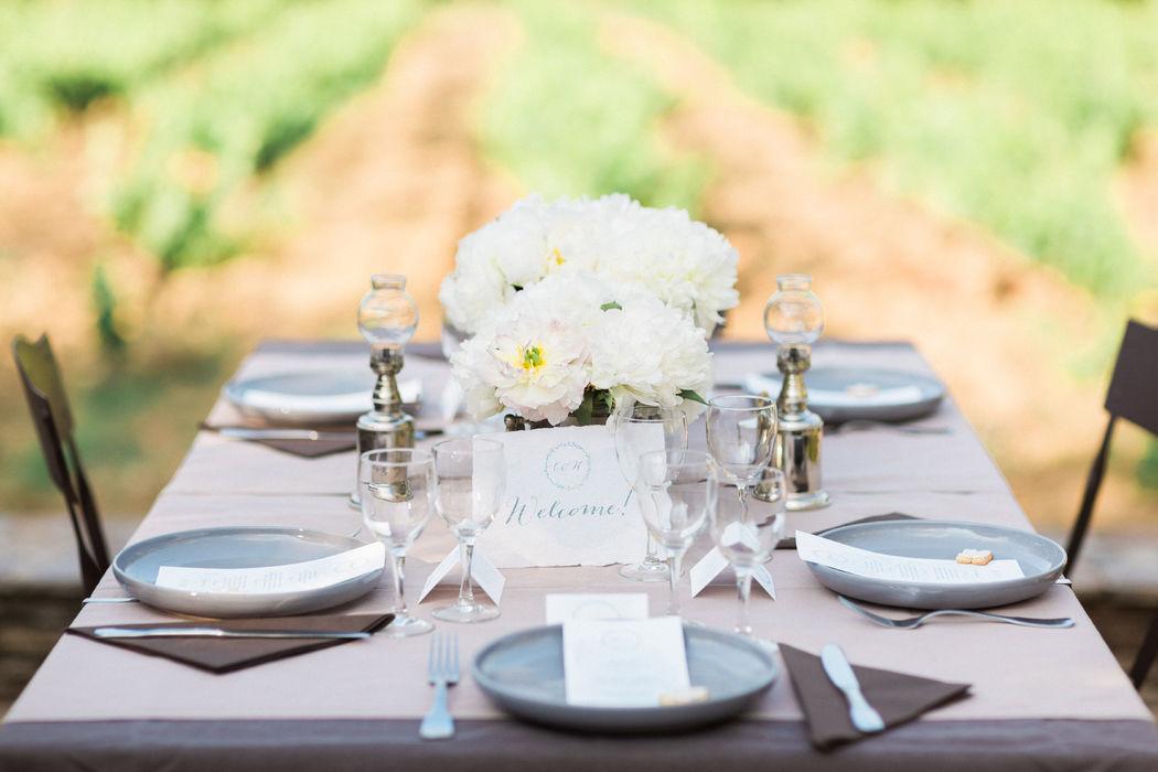 Internationale Hochzeit in Südfrankreich