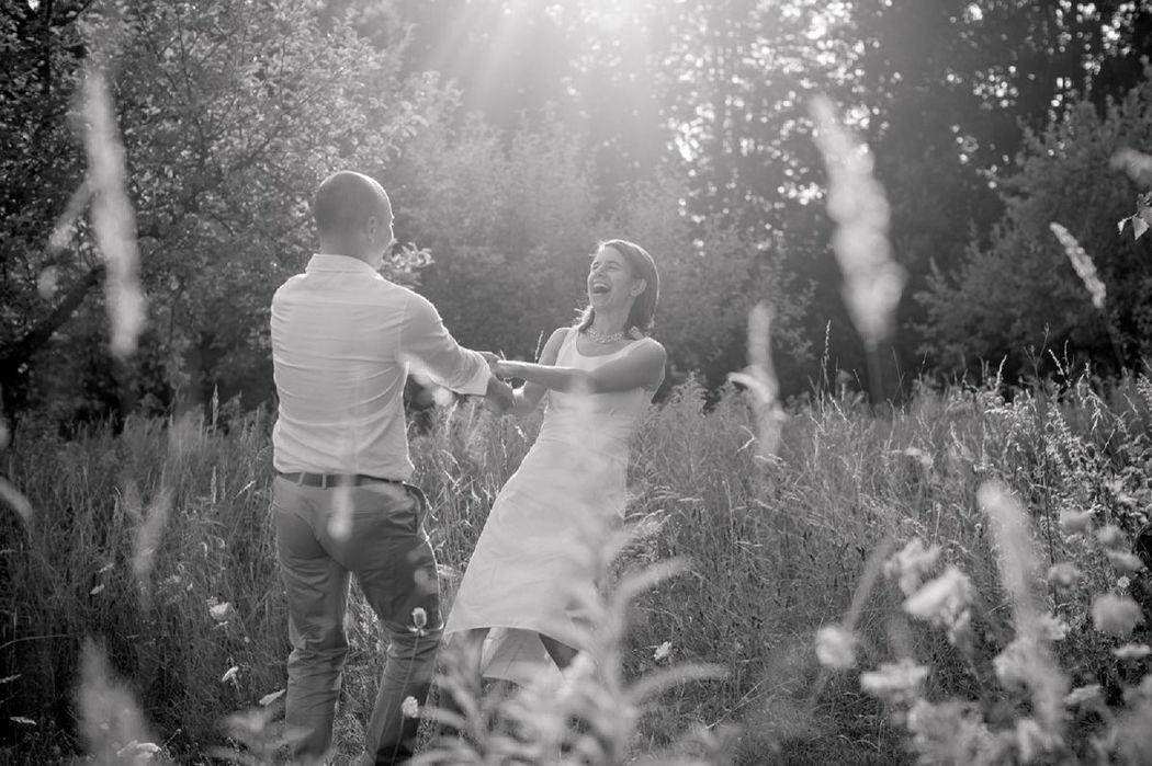Beispiel: Romantische Hochzeitsfotografie, Foto: Dorelies Hofer.