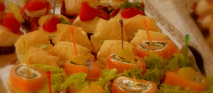 Beispiel: Kulinarische Eindrücke, Foto: Waldhotel Bergschlösschen.