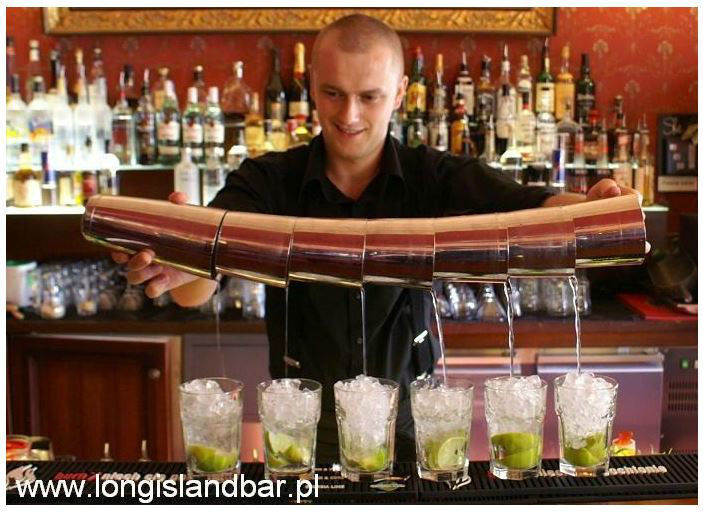 Long Island Bar - Barman na Wesele