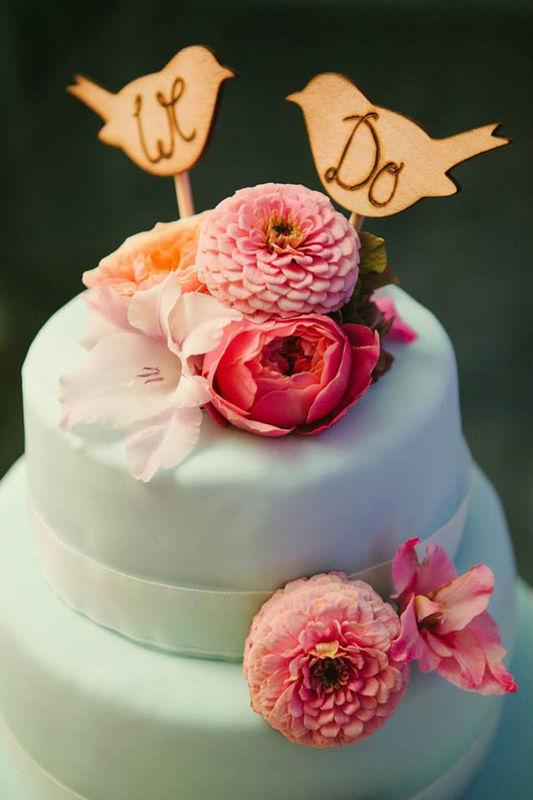 Beispiel: Von Hochzeitstorte bis Dekoration, Foto: Brautzauber.