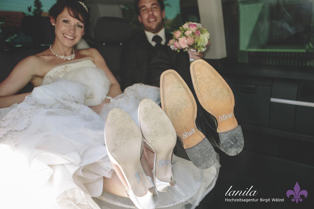 Schuhsticker exklusiv erhältlich bei LANILA