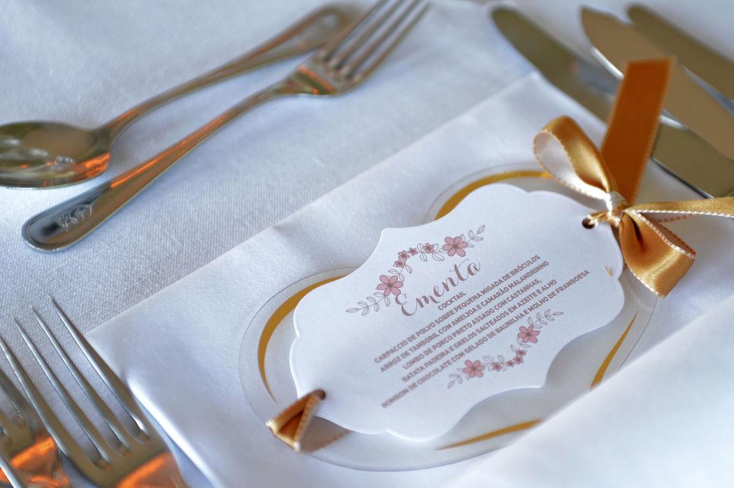 Detalhe Banquete
