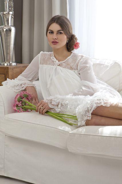 Mia (Tunika für die schwangere Braut)