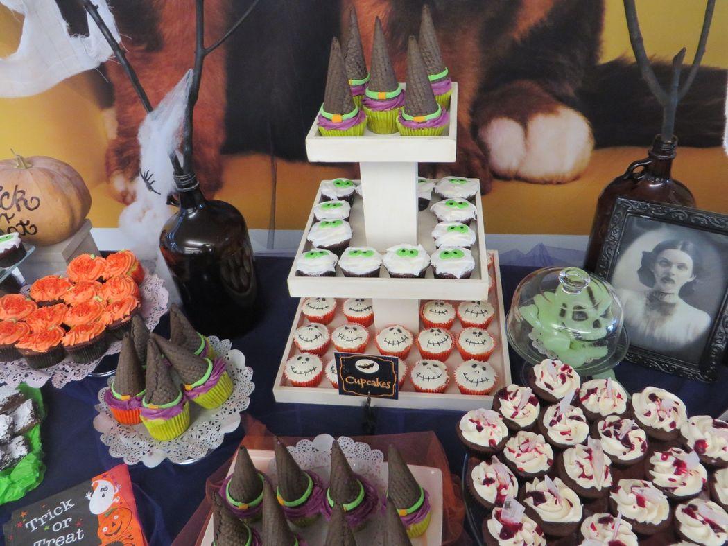 ¨Cupcakes¨ Halloween, Mars
