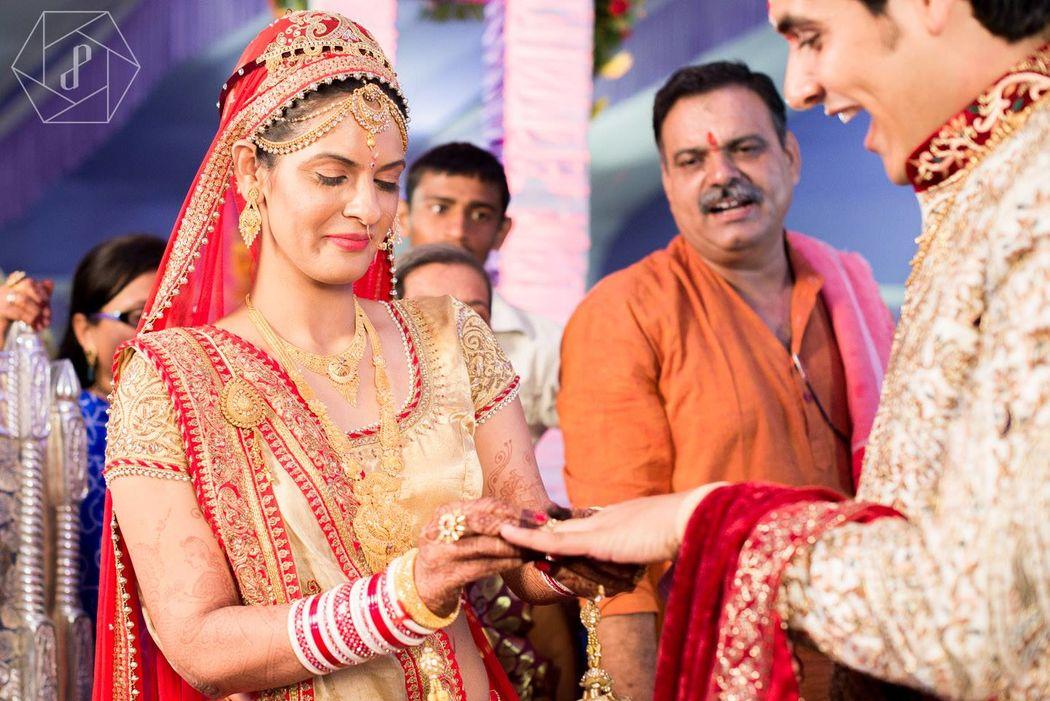 Boda en India  Ceremonia
