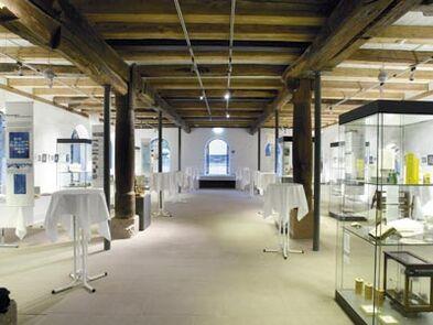 Beispiel: Raumimpression, Foto: Buhlsche Mühle.