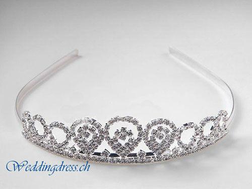 Beispiel: Wunderschöner Kopfschmuck, Foto: Weddingdress.ch.