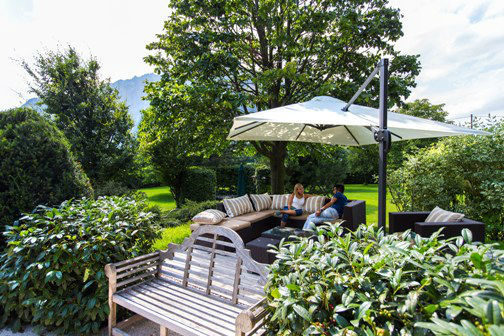 Beispiel: Garten, Foto: Hotel Hubertushof Anif.