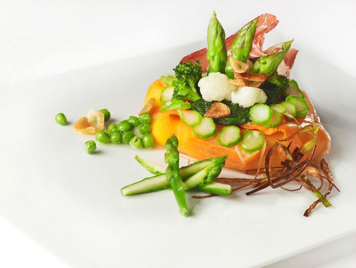 Panache de verduras frescas