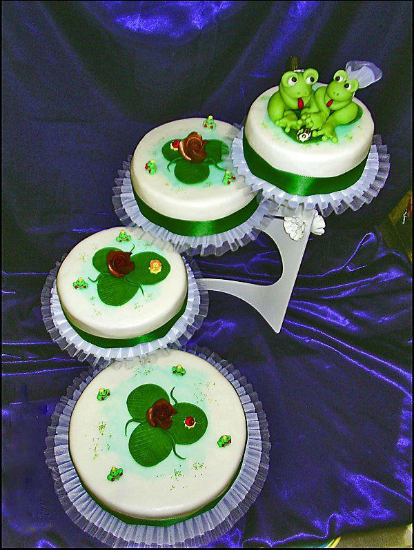 Beispiel: Torten mit mehreren Etagen, Foto: Torten Aigner.