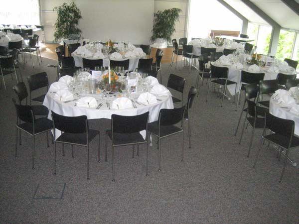 Beispiel: Hochzeitsgedeck, Foto: Schlosshotel Rockenhausen.
