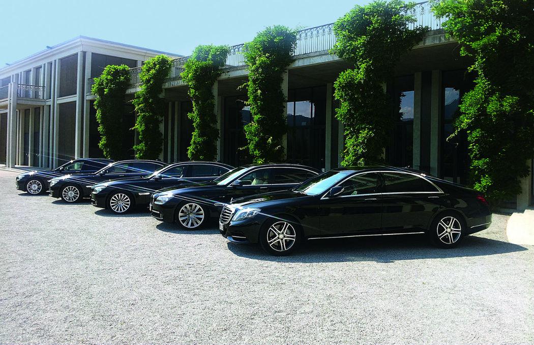 Beispiel: Limousinen, Foto: Munich-Drivers.