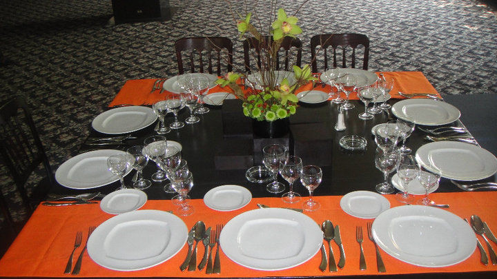 Un toque de color en el banquete de tu boda - Foto Banquetes Casino Tlalpan