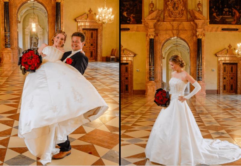 Beispiel: Originelle Hochzeitsfotos, Foto: Tom River Photography.