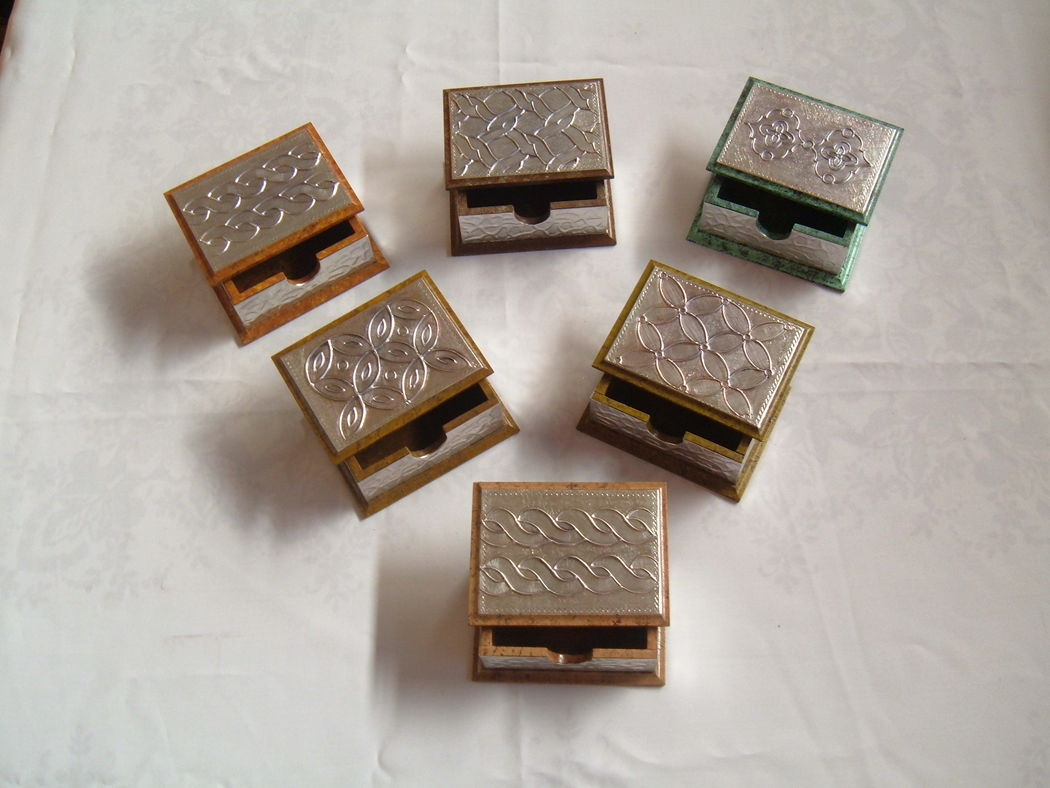 Caja tarjetero aluminio