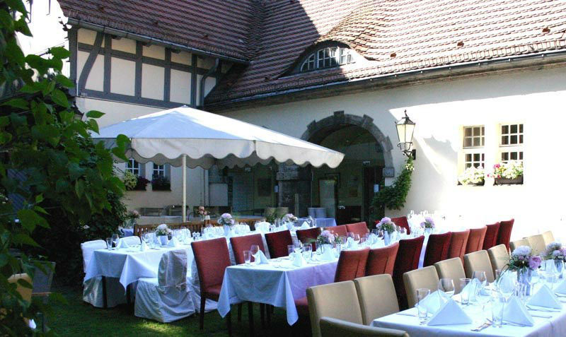 Beispiel: Bankett - Garten, Foto: Altes Zollhaus.
