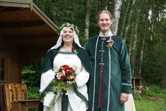 Beispiel: Ankunft des Brautpaares, Foto: Eheleite.com.