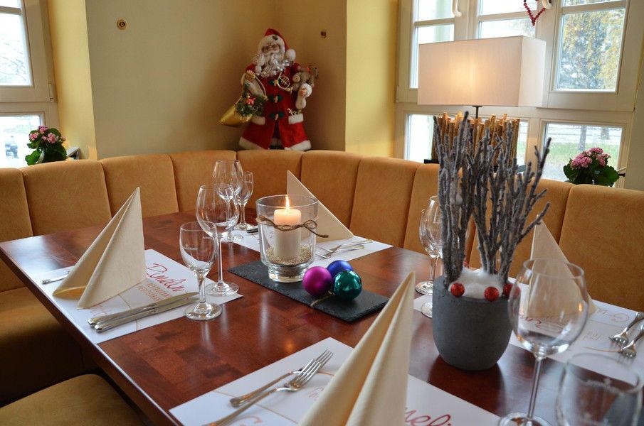 Beispiel: Tischdekoration, Foto: Rimelin Restaurant.