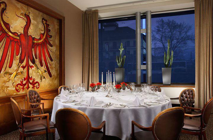 Beispiel: Theresiensalon, Foto: Grand Hotel Europa Innsbruck.