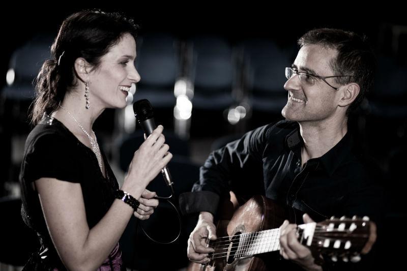 Duo Beatrix Reiterer und Gitarrist Luis Calero