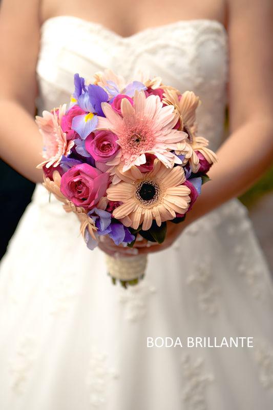 El Bouquette de la novia.