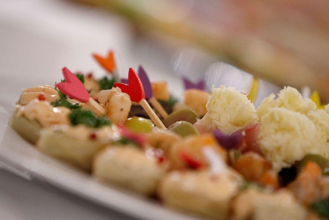 Beispiel: Catering, Foto: Partyservice Wahler.