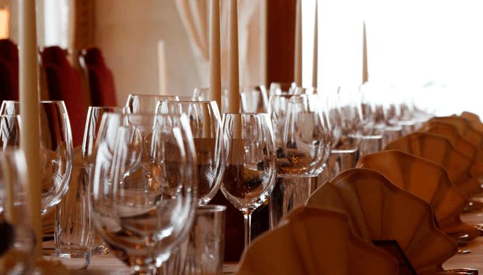 Beispiel: Tischdekoration, Foto: Hotel Schönblick.