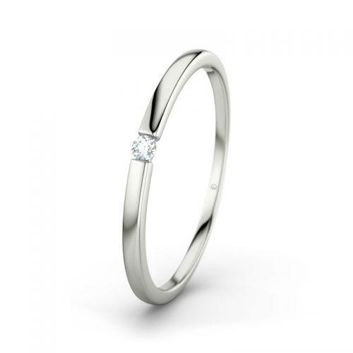 Voorbeeld: Leah RI3317 - Witgoud, diamant, Foto: 21 Diamonds.